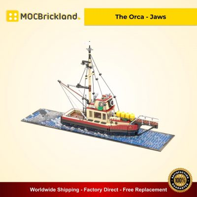 The Orca - Jaws MOC 38659 Movie Designed By Arconoide With 1235 Pieces