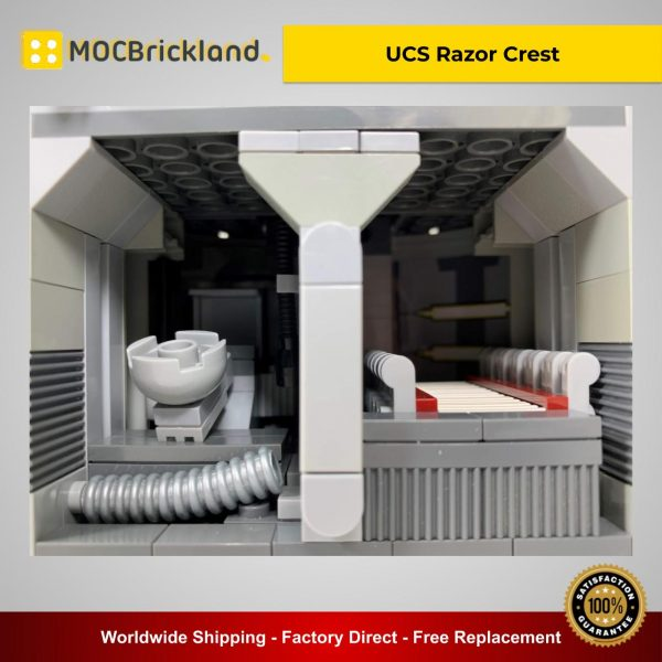 UCS Razor Crest MOC 37840 Star Wars Designed By Papaglop With 4190 Pieces