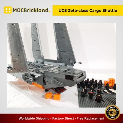 UCS Zeta-class Cargo Shuttle MOC 8143 Star Wars Designed By RenegadeClone With 4450 Pieces