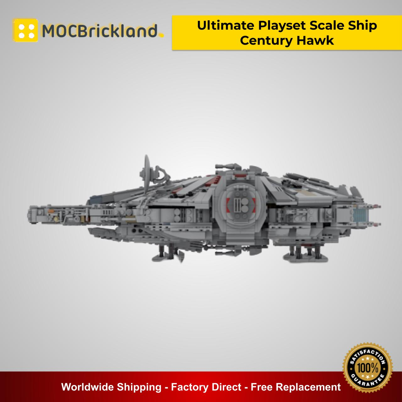 Ultimate Playset Scale Ship Century Hawk MOC 33689 Star Wars Designed By 2bricksofficial