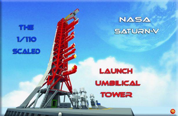 MOC 178913 NASA Saturn-V Launch Umbilical Tower