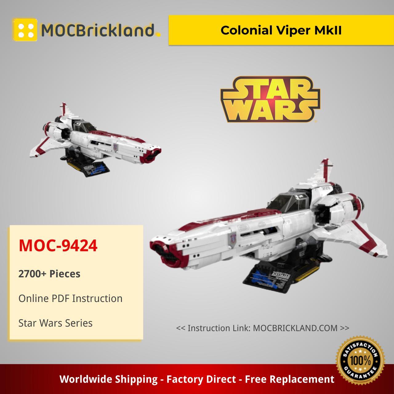MOC-9424 Colonial Viper MkII by davdup