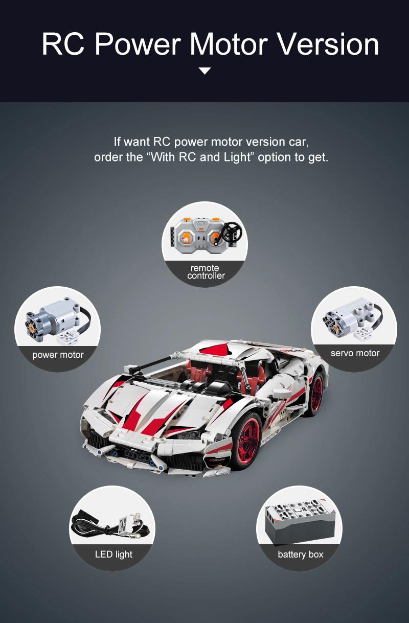 TECHNICIAN CADA C61018 Lamborghini Huracan LP 610 Super-Car