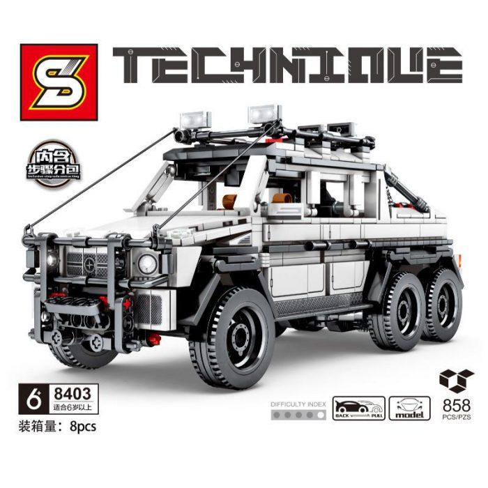 Technic SY 8403 Mercedesal-benzg Big G