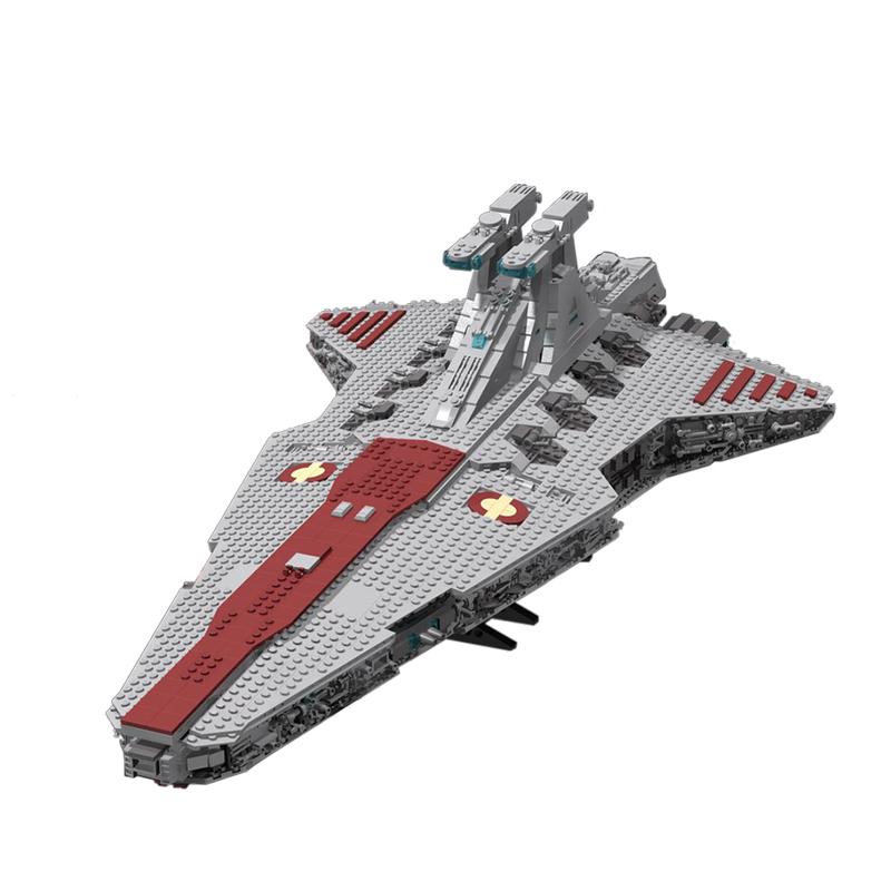 Star Wars MOC 14078 UCS Venator Class Star Destroyer by thire5