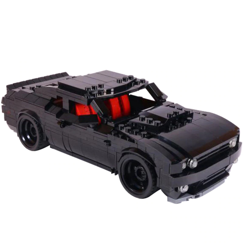 TECHNIC MOC 3934 Dodge Challenger 2014 By Zagdima MOCBRICKLAND