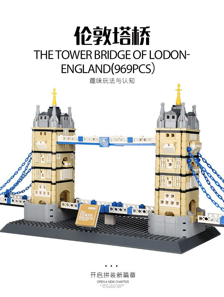 WANGE 4219 The tower Bridge of LODON-England