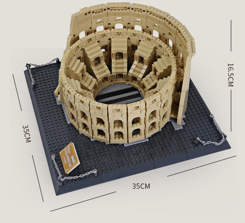 WANGE 5225 The Colosseum of Rome