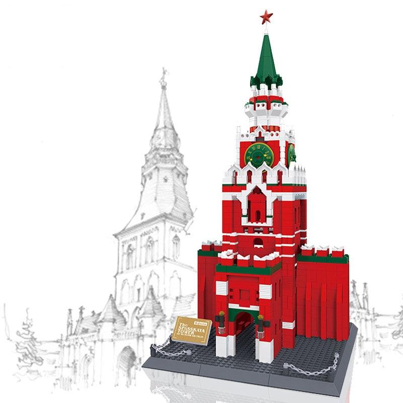 WANGE 8017 The Spasskaya Tower of Moscow Kremlin
