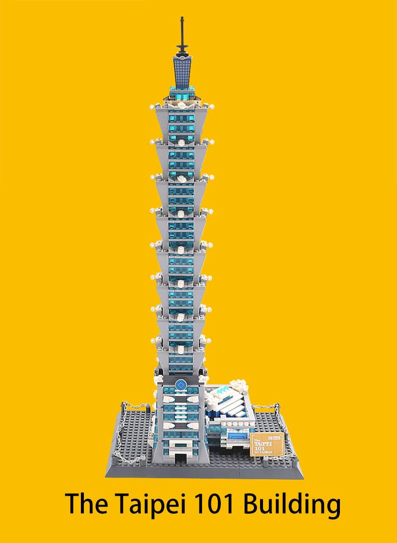 WANGE 8019 The Taipei 101 of Taiwan