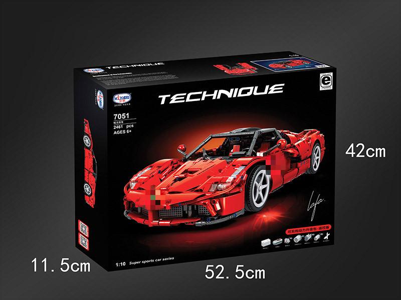 Winner 7051 SuperCar : Lafa sports car 1:10
