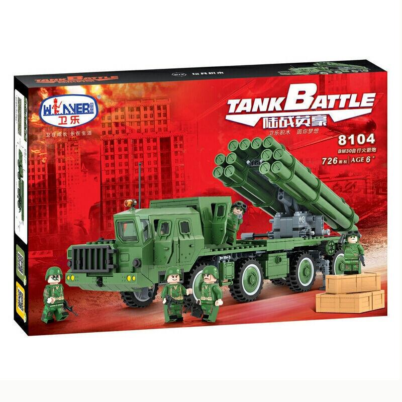 Winner 8104 TankBattle BM30