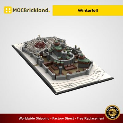 Winterfell MOC 25236 City Designed By EthanBrossard With 3052 Pieces