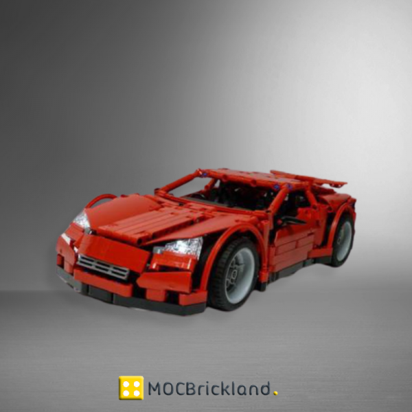 Supercar MOC 2160 Technic Designed By Madoca1977 Produced By MOC BRICK LAND