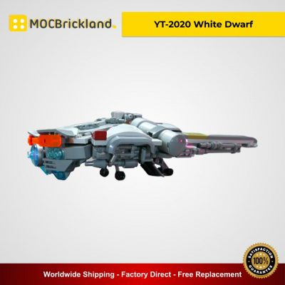 YT-2020 White Dwarf MOC 13612 Creator Designed By Gol With 346 Pieces